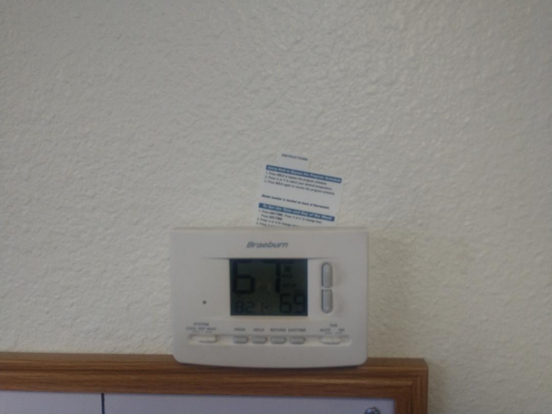 Tempe, AZ - Cooling Repair. Performed air conditioning repair on Trane package heat pump