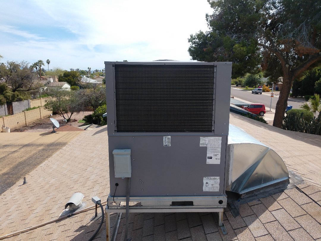 Tempe, AZ - Ac Installation. Performed air conditioning tune up on day & night heat pump