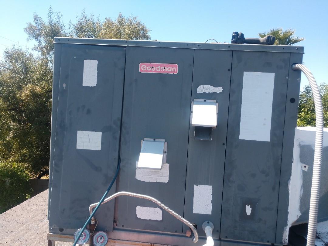 Scottsdale, AZ - Ac Repair. Repaired Goodman air conditioner