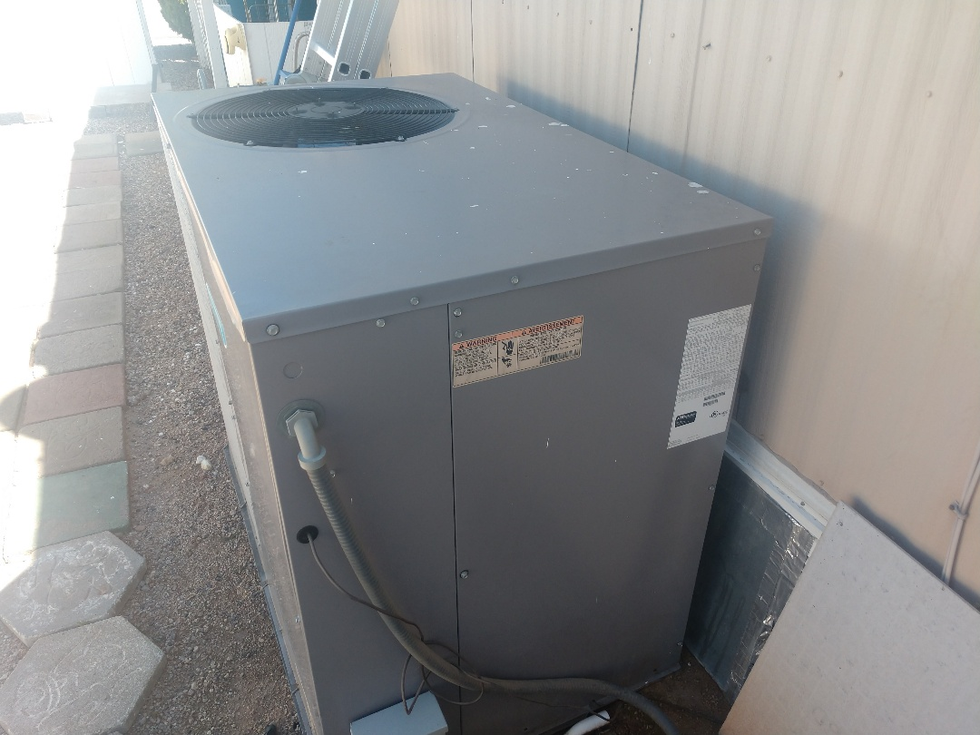 Mesa, AZ - Ac Repair. Repaired day & night heat pump