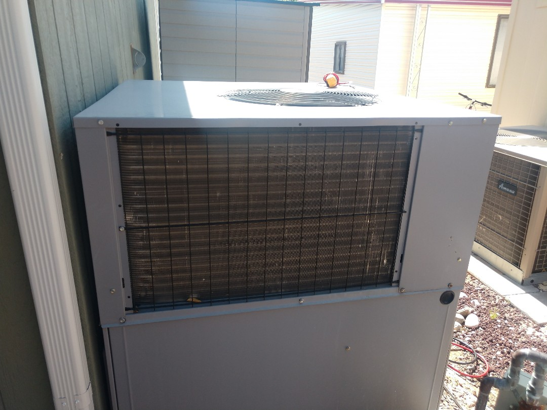 Mesa, AZ - Ac maintenance. Performed air conditioning tune up on day & night heat pump