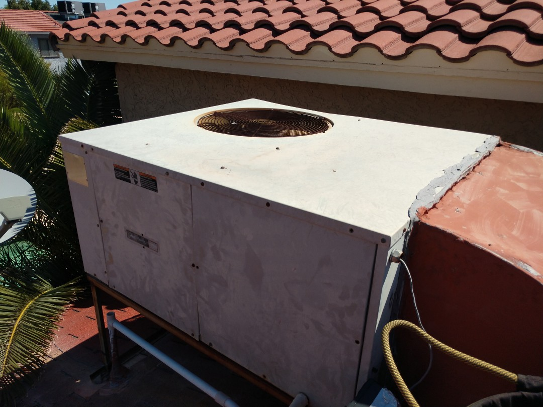 Phoenix, AZ - Ac Repair. Performed air conditioning Repair on carrier heat pump