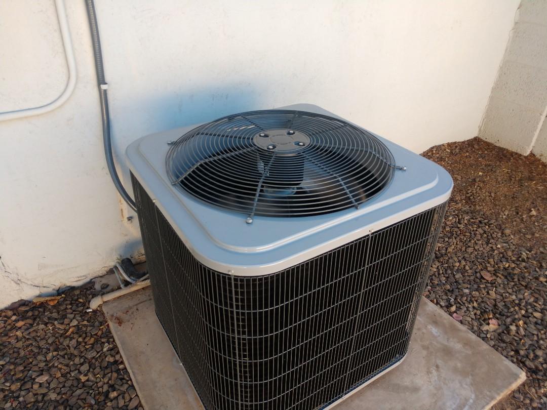 Scottsdale, AZ - Ac Installation. Installed day & night split system air conditioning system