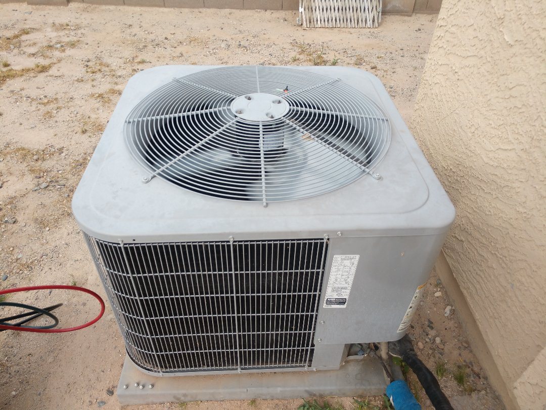 Ac Repair. Performed air conditioning Repair on carrier package heat pump