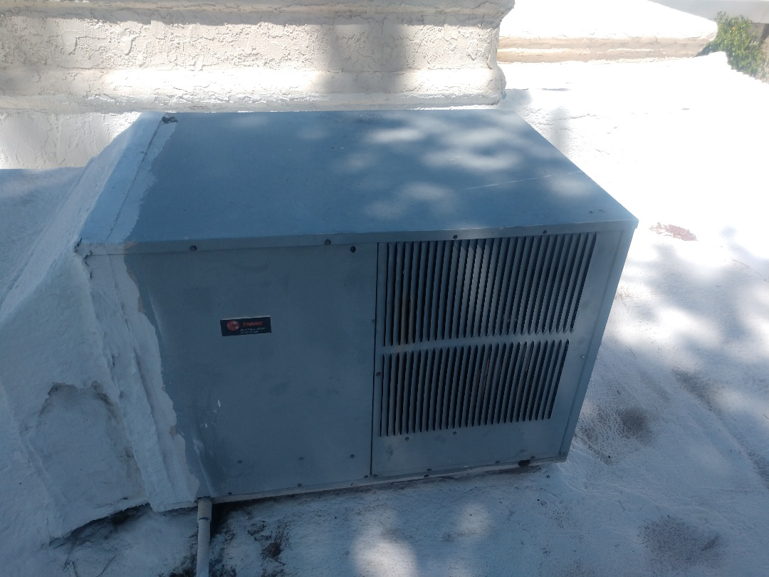 Phoenix, AZ - Air conditioning tune up. Performed ac maintenance on Trane package heat pump
