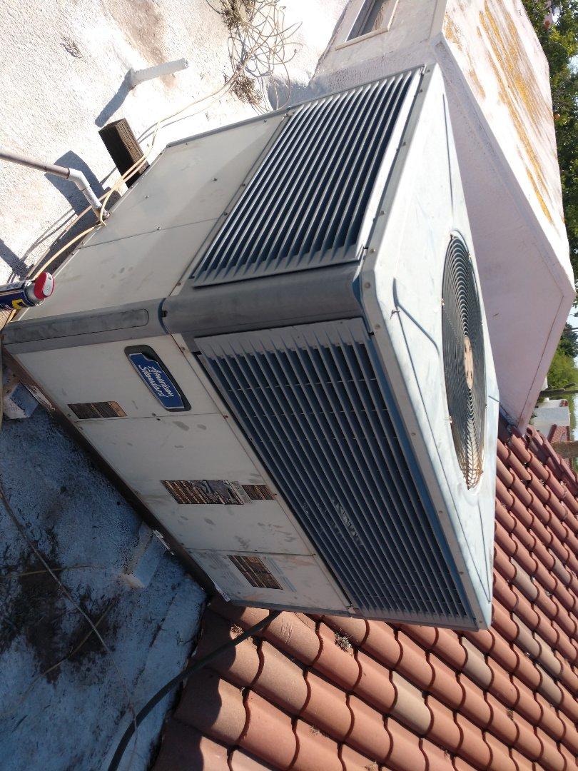 Tempe, AZ - Ac Repair. Performed air conditioning Repair on American standard package heat pump