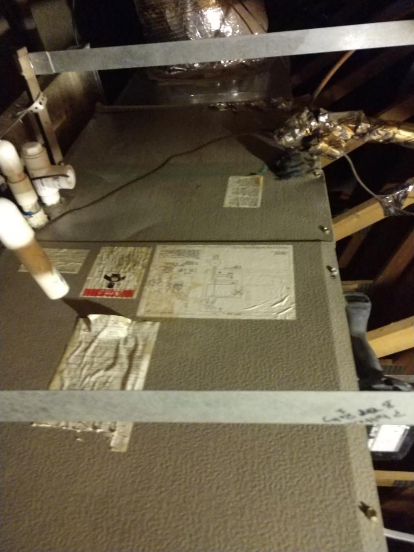 Chandler, AZ - Air conditioning Repair. Performed ac Repair on Goodman heat pump