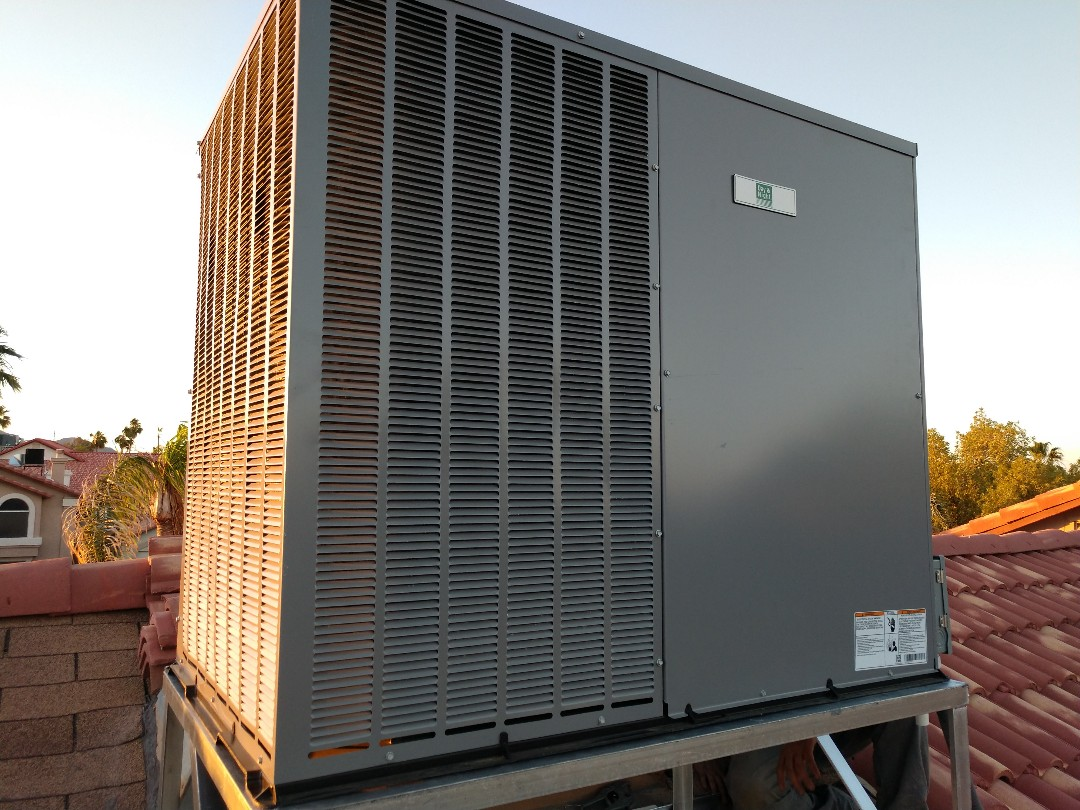 Phoenix, AZ - Air conditioning Replacement. Installed day and night package heat pump