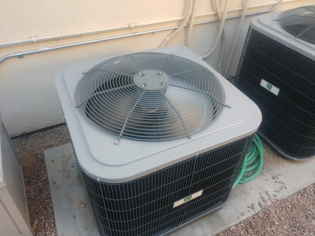Phoenix, AZ - Ac Repair. Performed air conditioning Repair on day and night heat pump