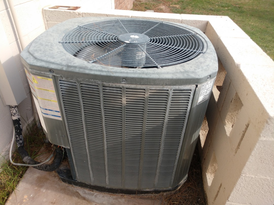 Tempe, AZ - Ac Repair. Performed air conditioning Repair on trane heat pump