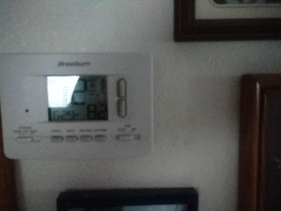 Scottsdale, AZ - Sir conditioning Repair. Performed AC Repair on day & night package heat pump