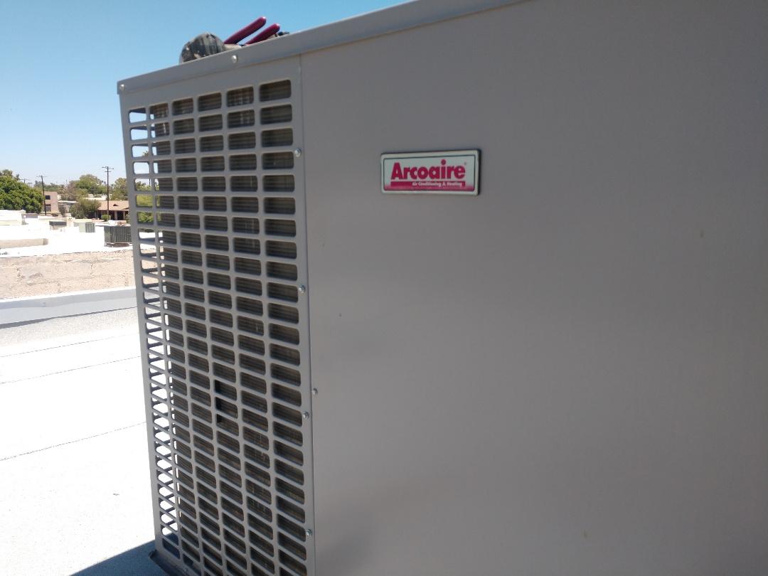 Chandler, AZ - Sir conditioning Repair. Performed ac Repair on arcoaire package heat pump