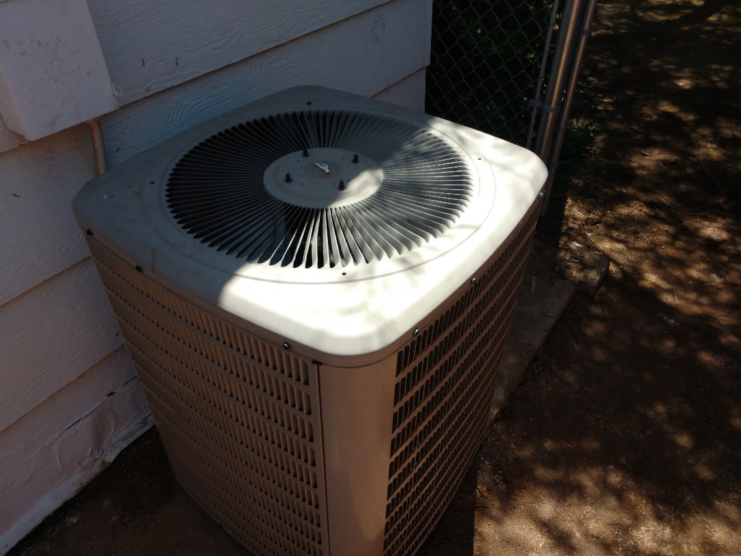 Ac Repair. Performed air conditioning Repair on Goodman heat pump