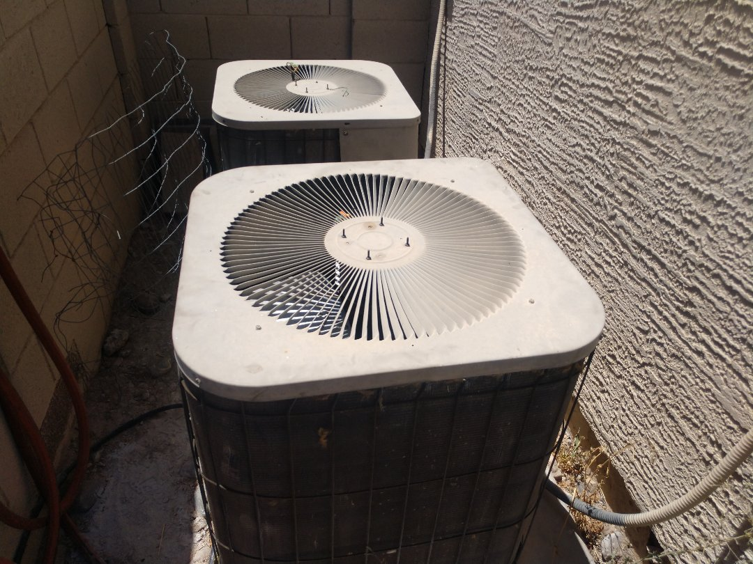 Surprise, AZ - Air conditioning Repair. Performed ac Repair on Goodman heat pump