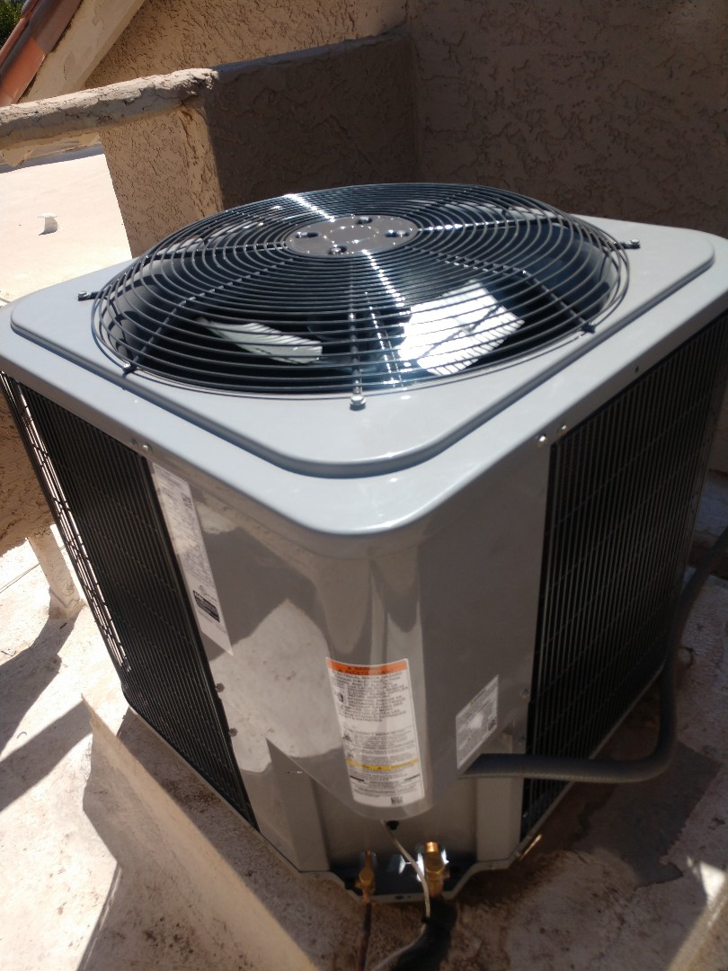 Scottsdale, AZ - Installed day and night split system air conditioning system