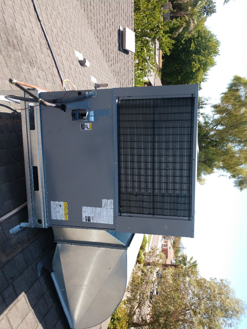 Scottsdale, AZ - Ac installation. Installed day and night gaspack