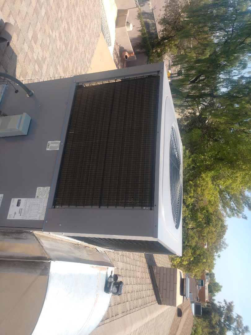 Tempe, AZ - Ac inspection. Performed air conditioning tune up on day and night heat pump