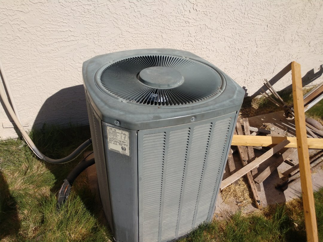 Scottsdale, AZ - Ac Repair. Performed air conditioning Repair on trane package heat pump