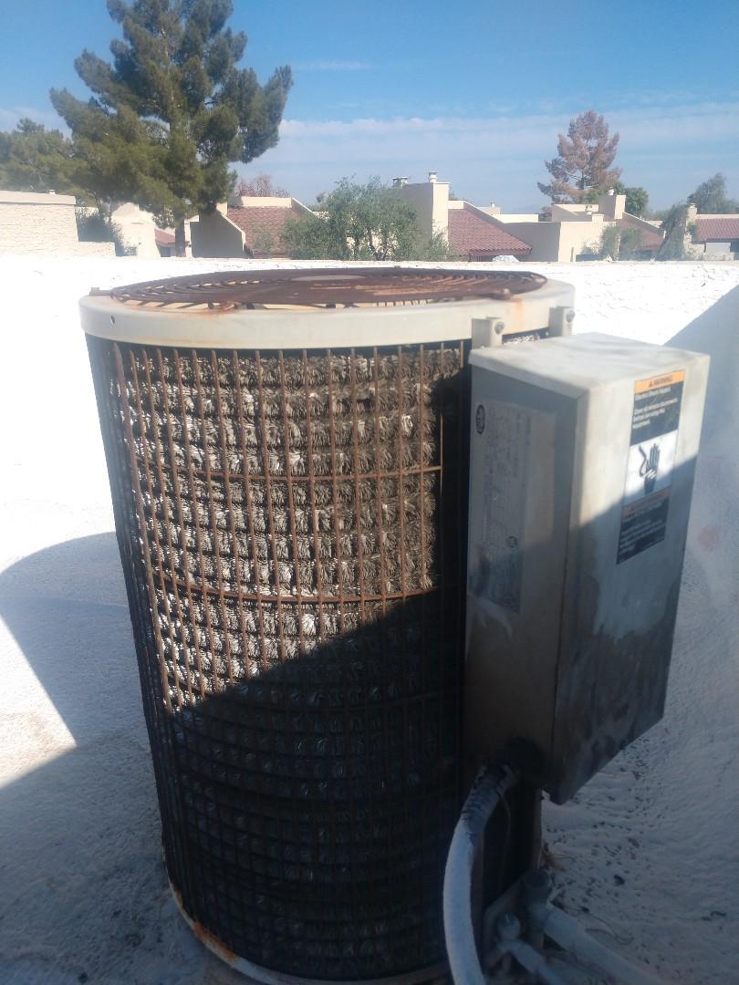 Phoenix, AZ - Air conditioning Repair. Performed ac Repair on carrier heat pump
