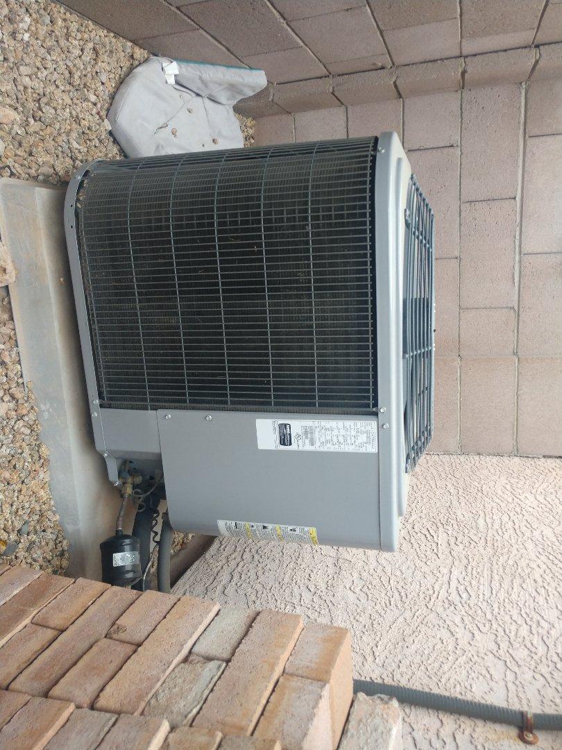 Phoenix, AZ - Heating maintenance. Performed heating tune up on day & night heat pump