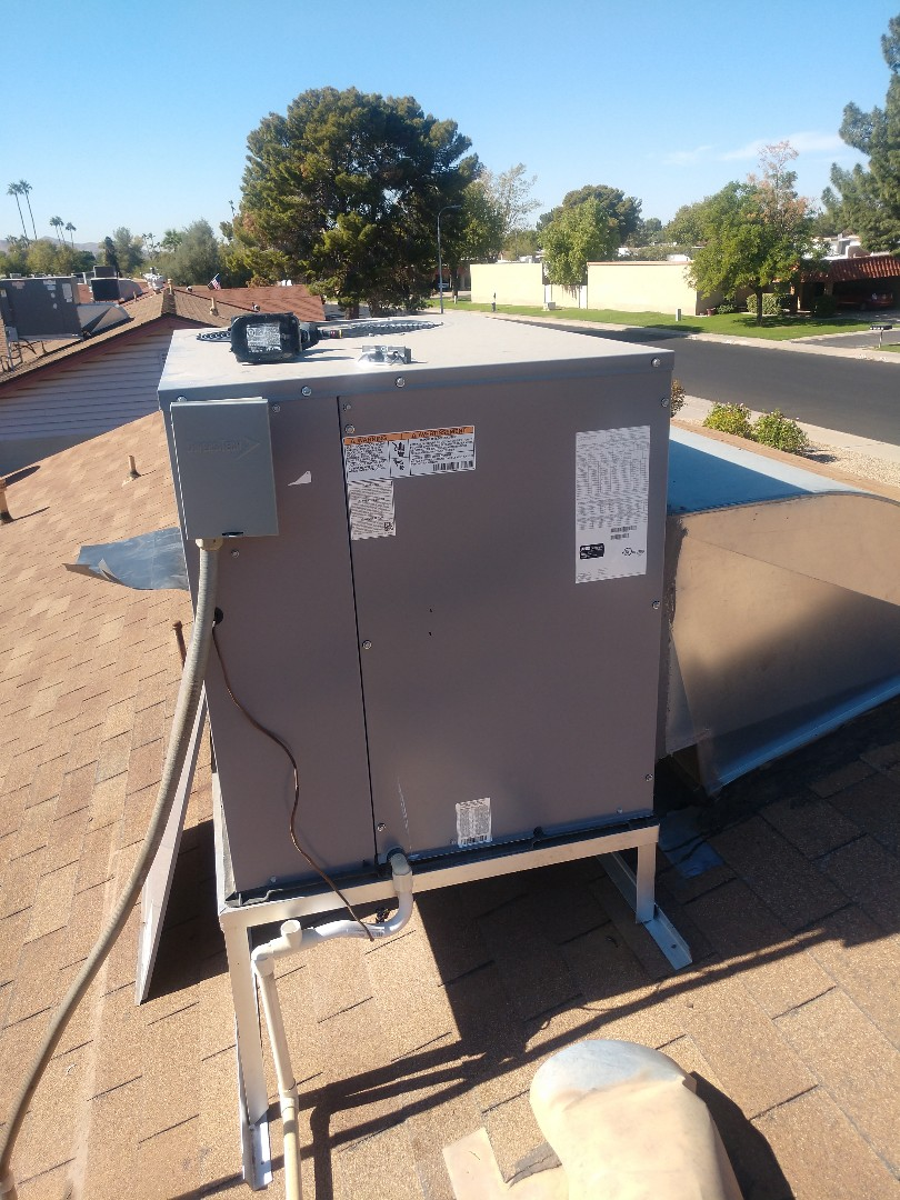 Tempe, AZ - Heating tune up. Performed heating check up on day & night heat pump