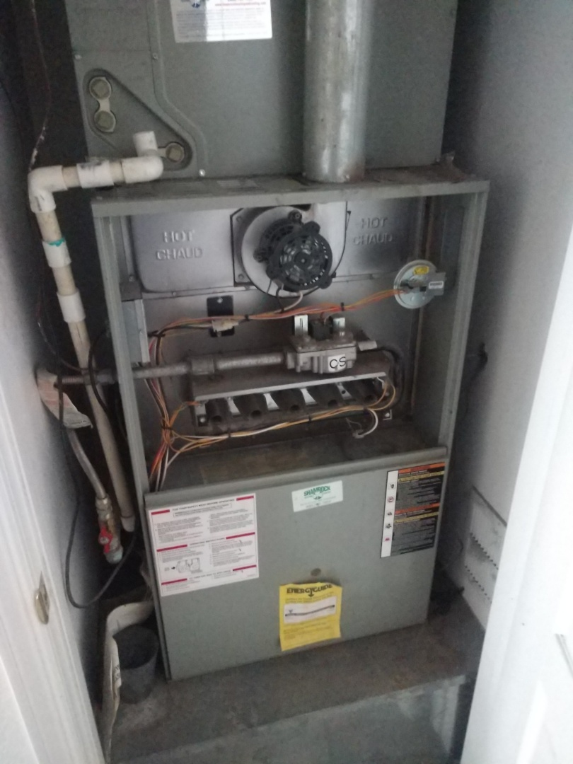 Furnace inspection. Performed heating tune up on Trane furnace.