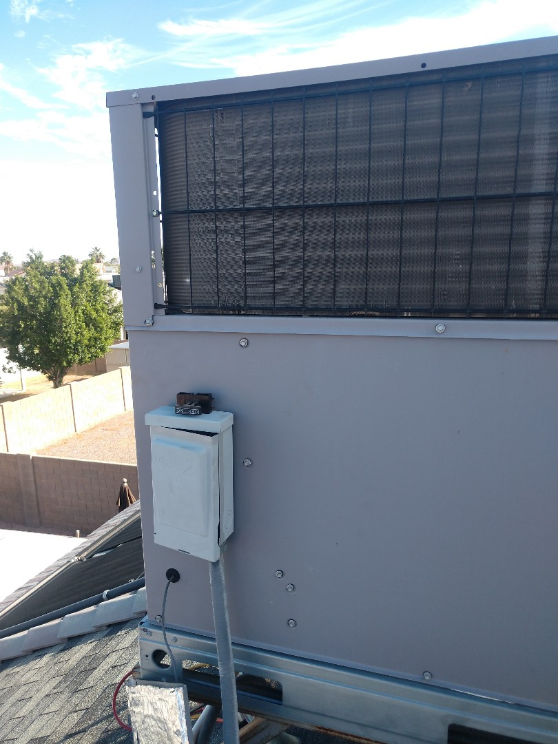 Peoria, AZ - Heating tune up. Performed heating maintenance on day & night heat pump