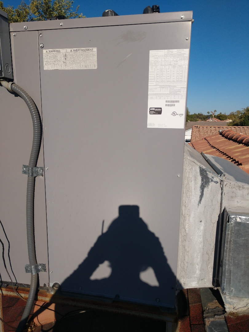 Mesa, AZ - Heating tune up. Performed heating maintenance on day & night heat pump
