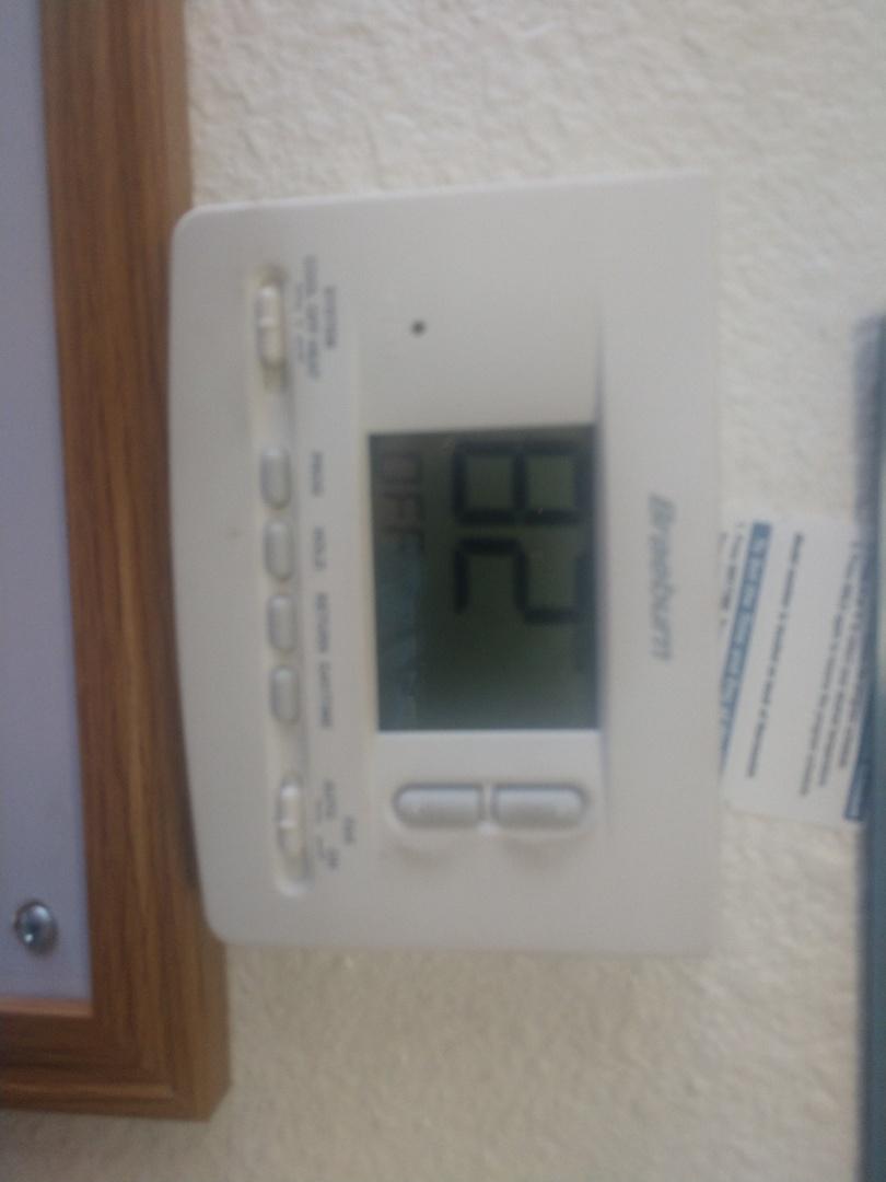 Tempe, AZ - Heating repair. Performed heating repair on trane heatpump