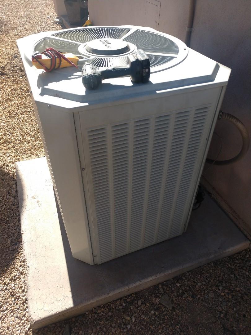 Scottsdale, AZ - Heating tune up. Performed heating maintenance on trane gas furnace