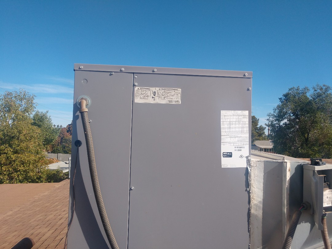 Scottsdale, AZ - Heating tune up. Performed heating maintenance on day and night heat pump