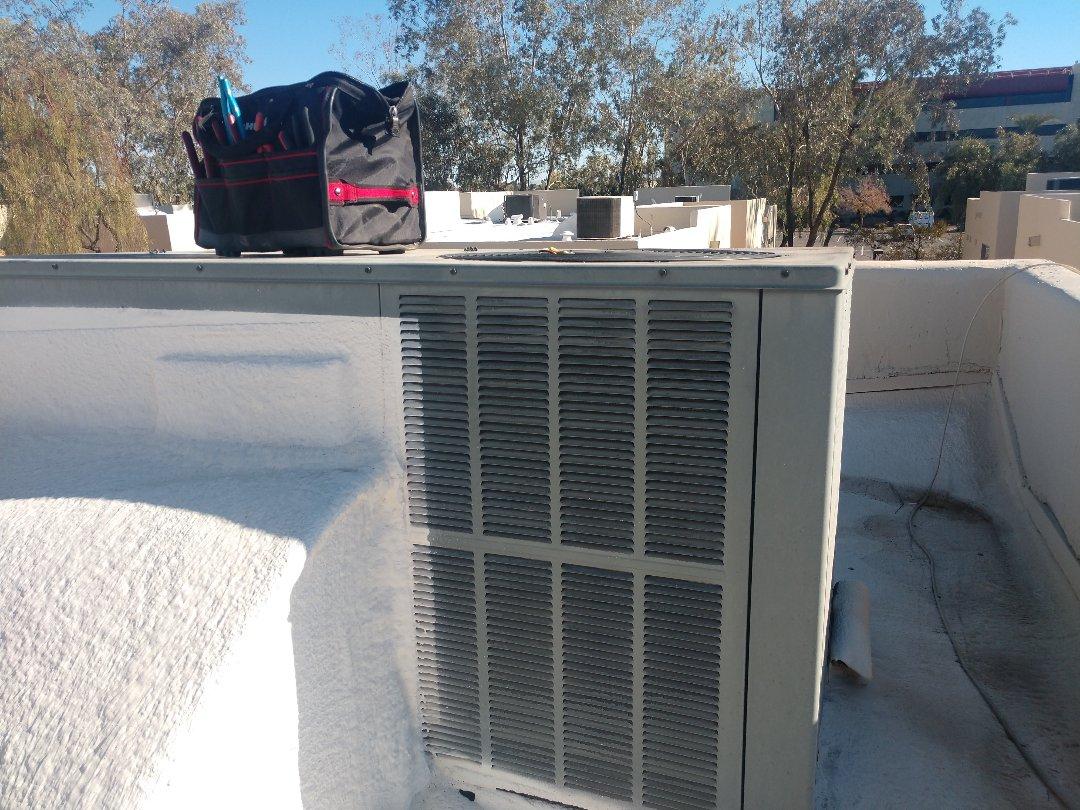 Chandler, AZ - Heating repair. Performed heating Repair on goodman heat pump