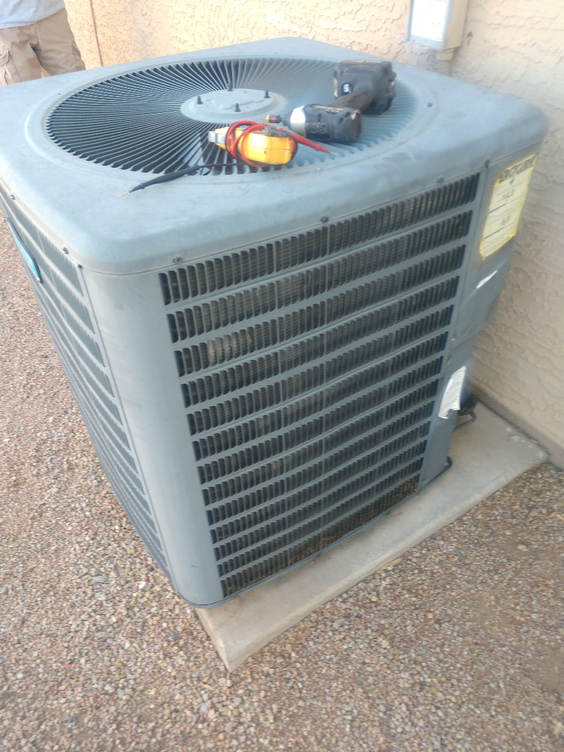 Scottsdale, AZ - Heating inspection. Performed heating tune up on day and night heat pump