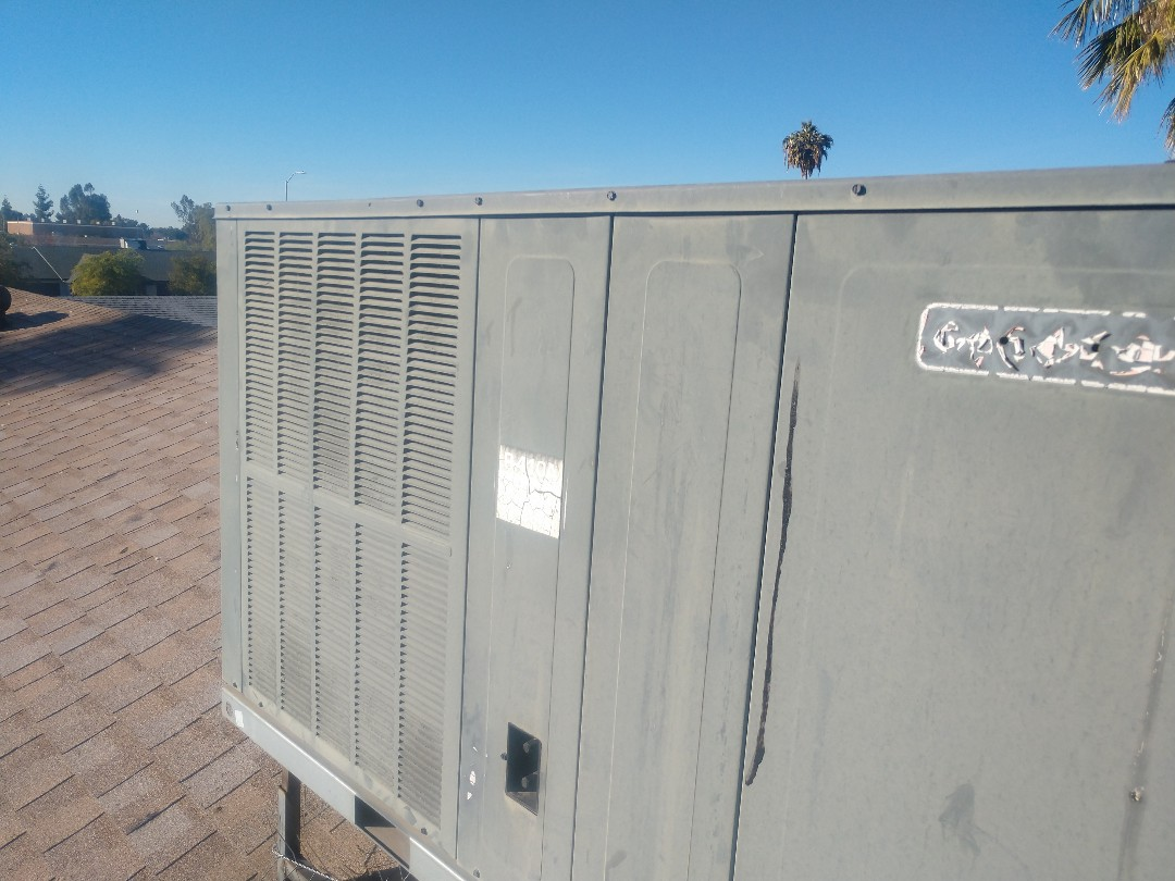 Mesa, AZ - Heating maintenance. Performed heating tune up on goodman heat pump