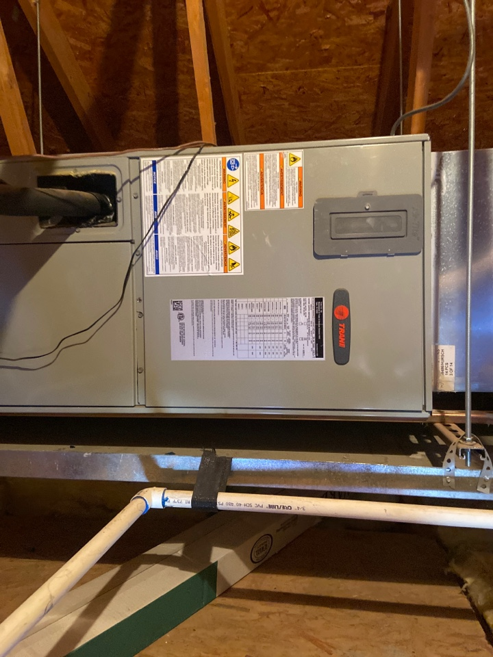 Scottsdale, AZ - Heating call. Heating repair on trane heat pump