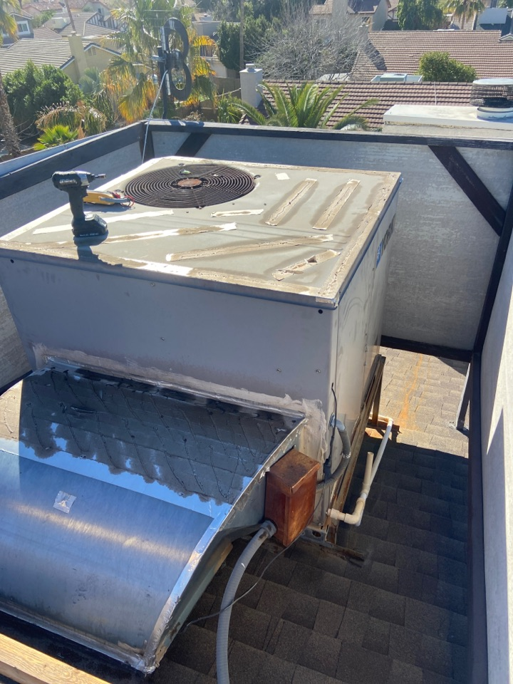 Scottsdale, AZ - Heating call. Heating maintenance on York heat pump