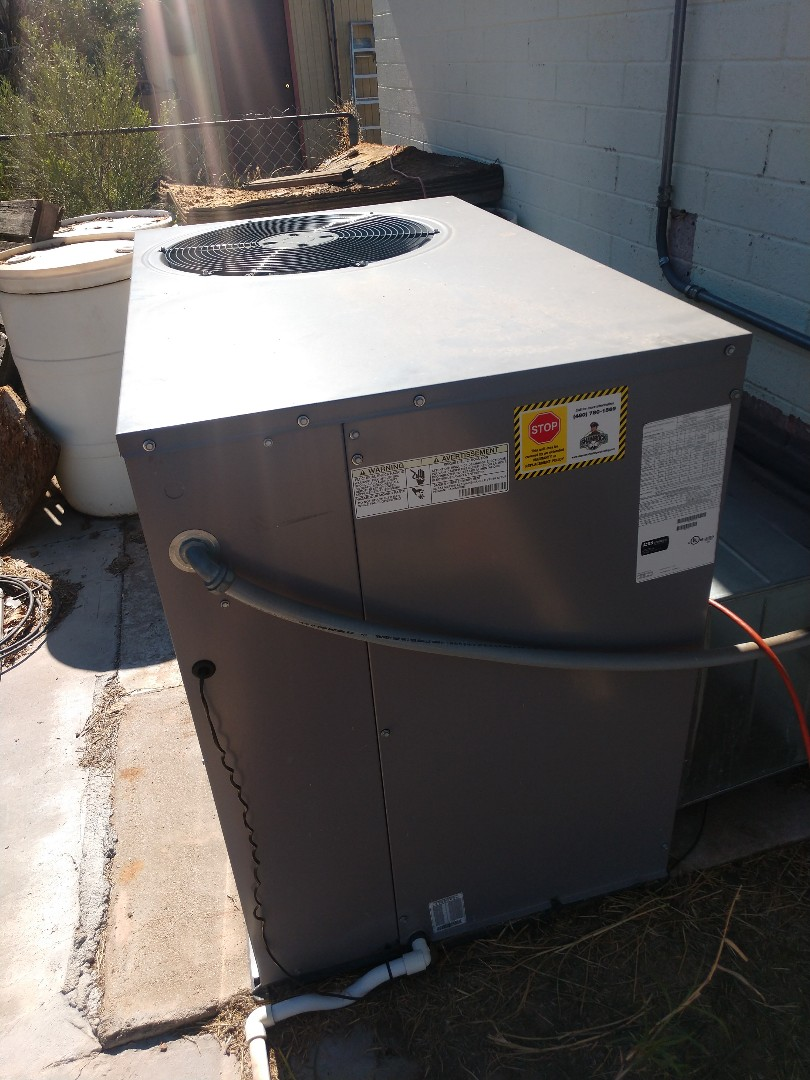 Heating maintenance. Performed heating tune up on day and night heat pump