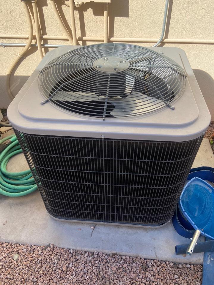 Phoenix, AZ - Heating call heating maintenance on day and night heat pump