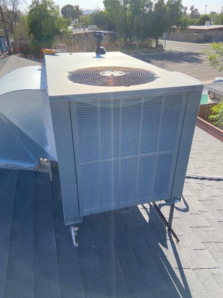Tempe, AZ - Cooling call. Cooling repair on Goodman ac