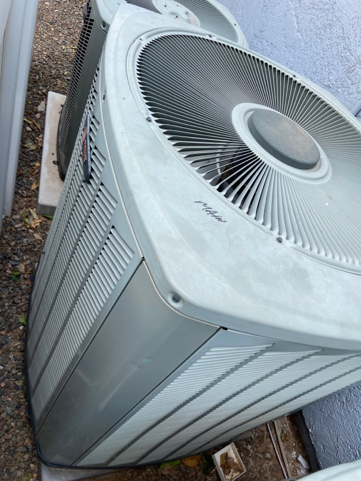 Gilbert, AZ - Cooling call. Cooling tune up on trane ac