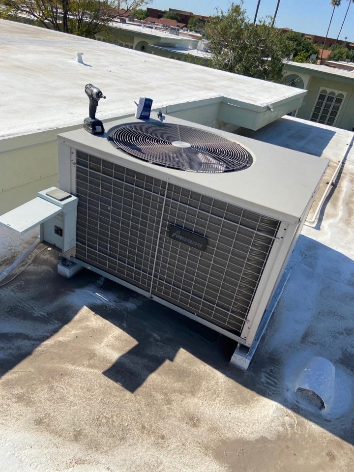 Sun City, AZ - Cooling repair. Ac repair on Amana ac