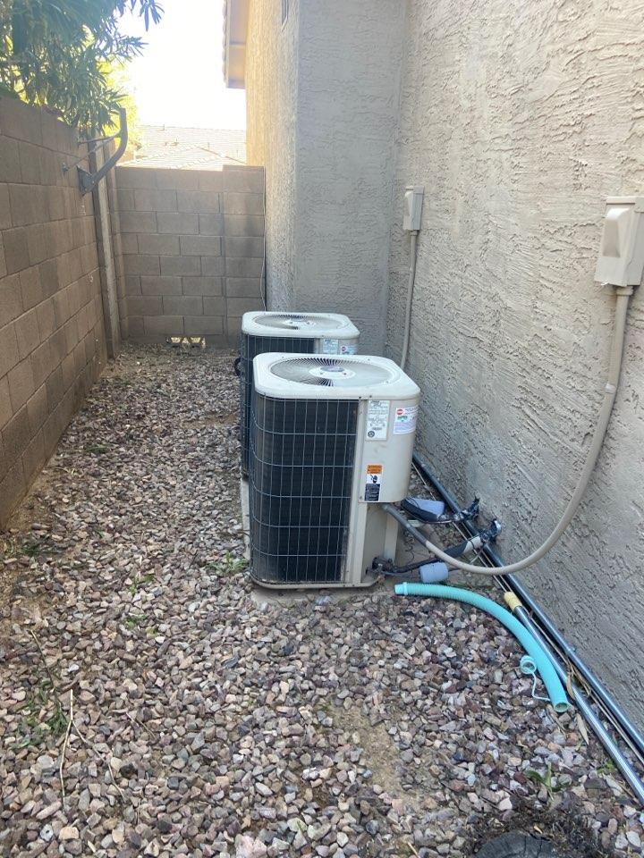 Cave Creek, AZ - Cooling call. Ac repair on Lennox ac