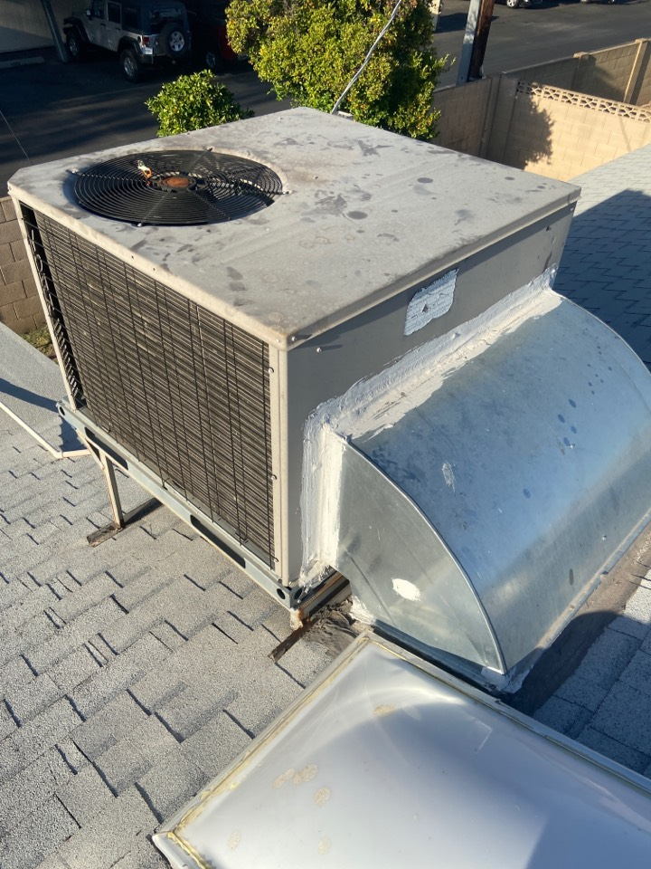 Cooling call. Cooling repair on York ac