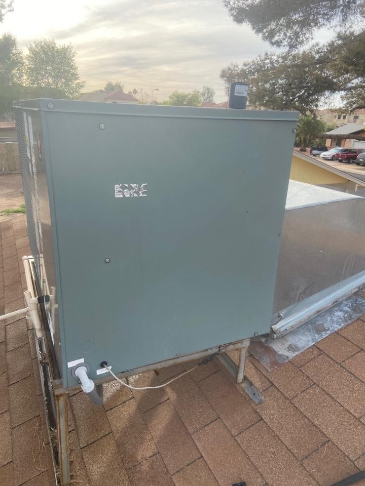Tempe, AZ - Cooling call. Cooling repair on Rheem ac