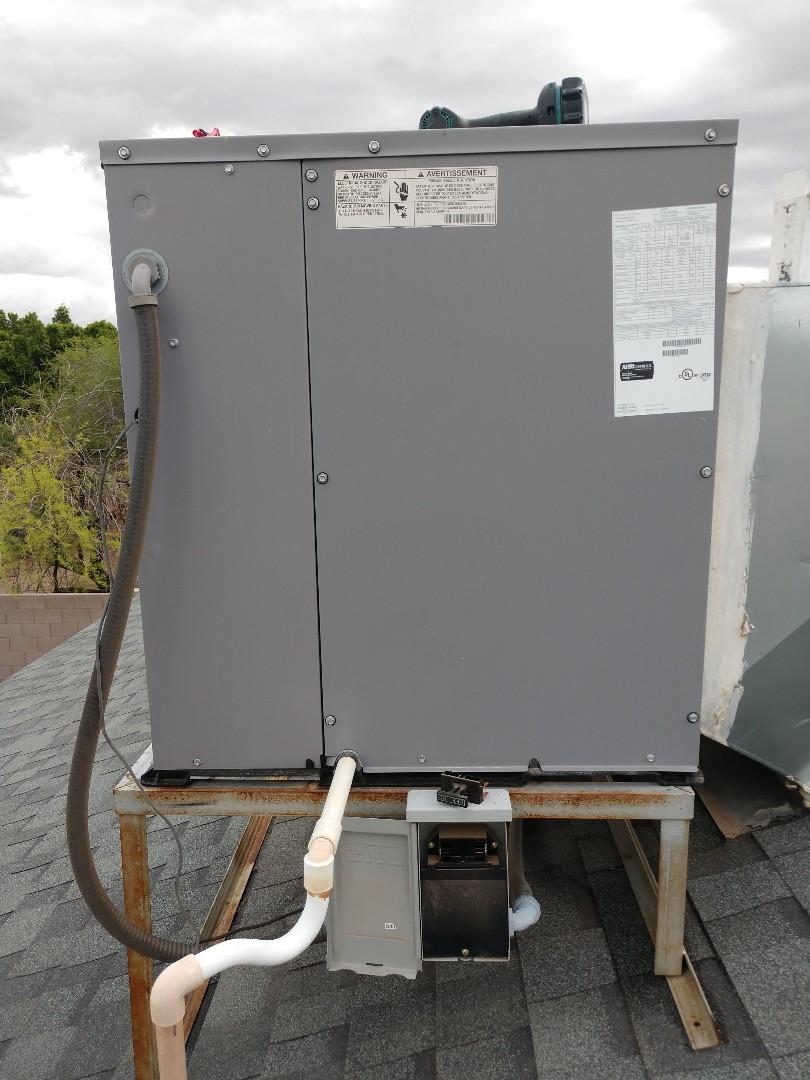 Tempe, AZ - Air conditioning Repair. Performed ac repair day and night heat pump