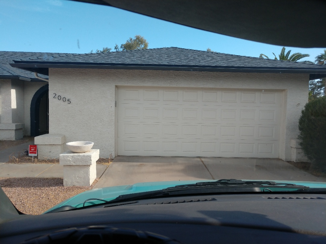 Chandler, AZ - Air conditioning Inspection. Performed ac tune up on trane heat pump