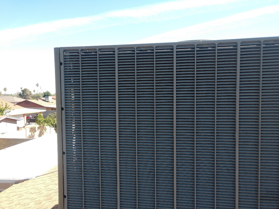 Glendale, AZ - Air conditioning Inspection. Performed ac tune up on trane heat pump