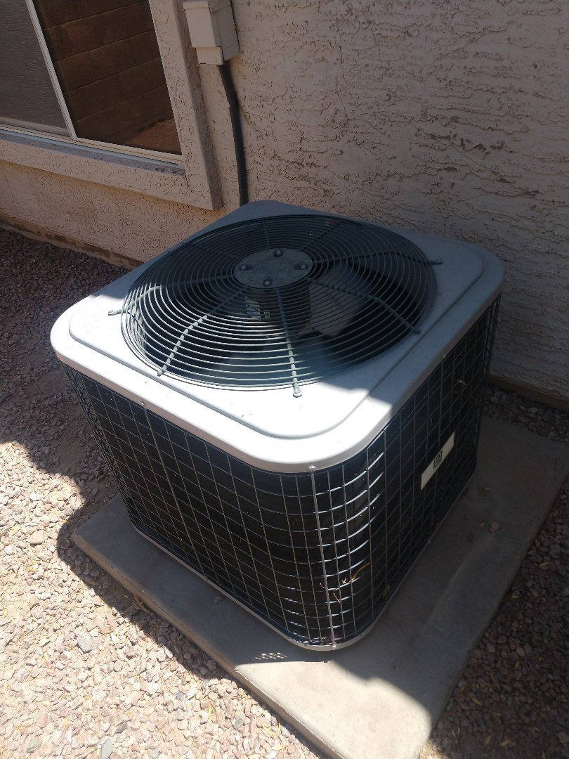 Glendale, AZ - Ac tune up. Performed air conditioning Inspection on day and night heat pump