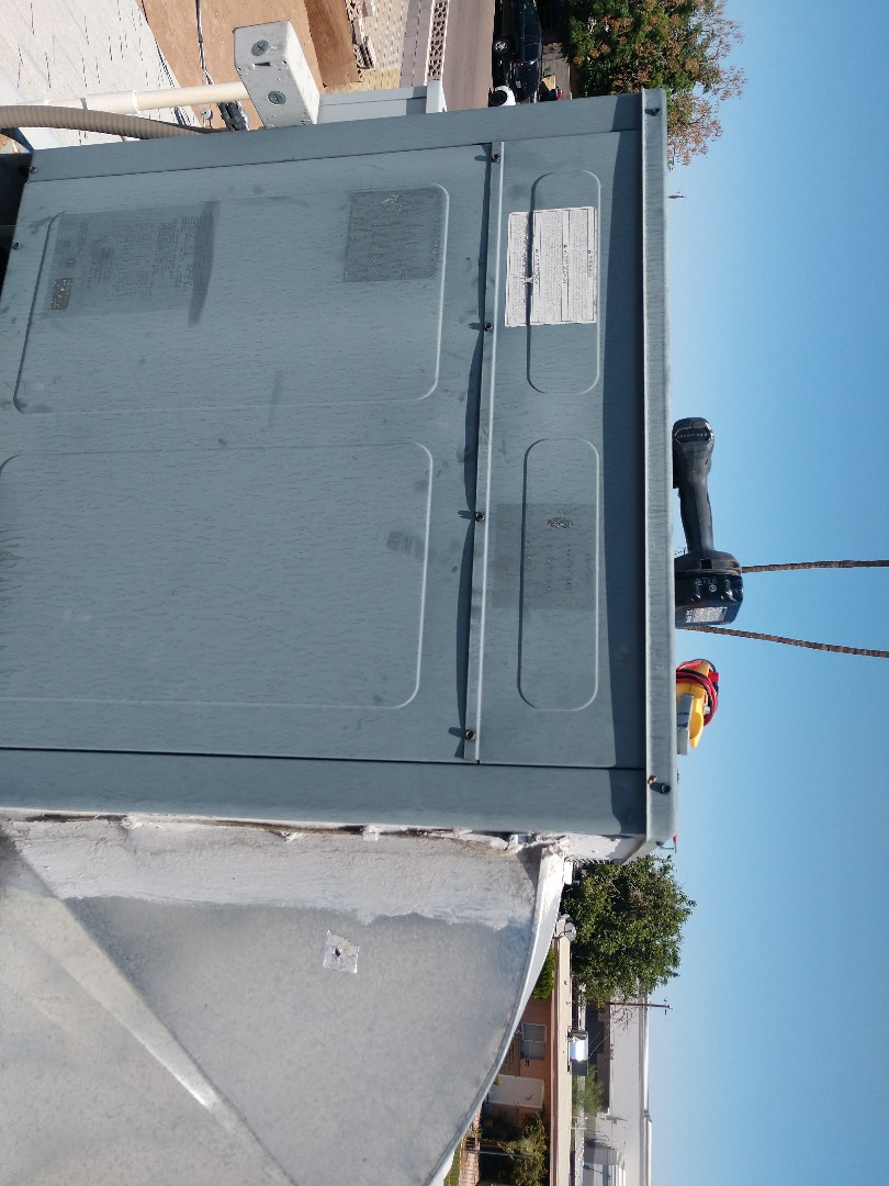 Ac tune up. Performed air conditioning Inspection on goodman heat pump