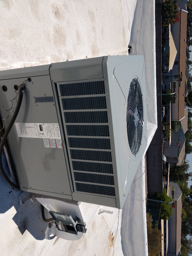 Air conditioning Inspection. Performed ac tune up on day and night heat pump